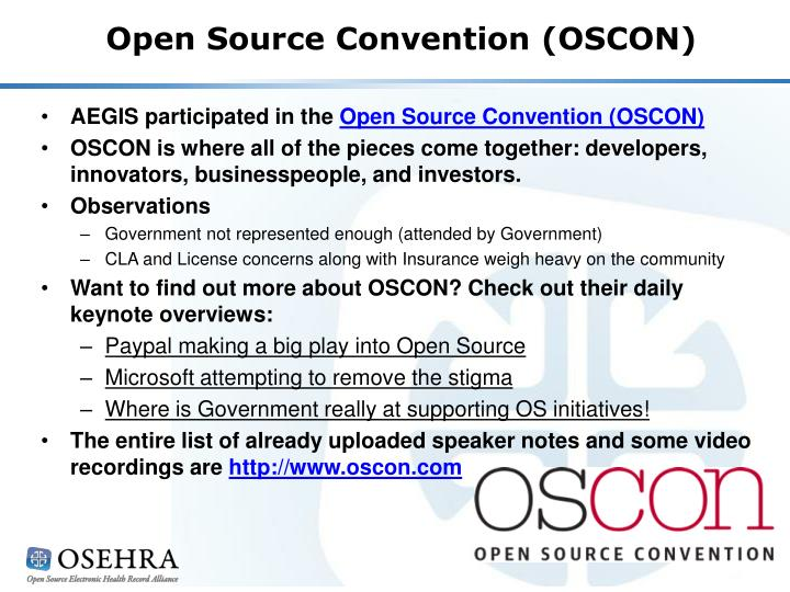 Open Source Convention (OSCON)