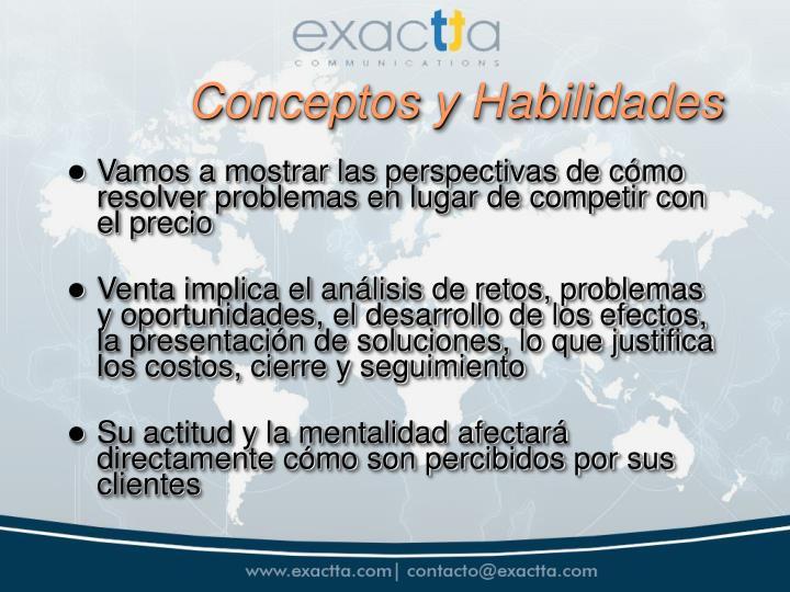 Conceptos y Habilidades