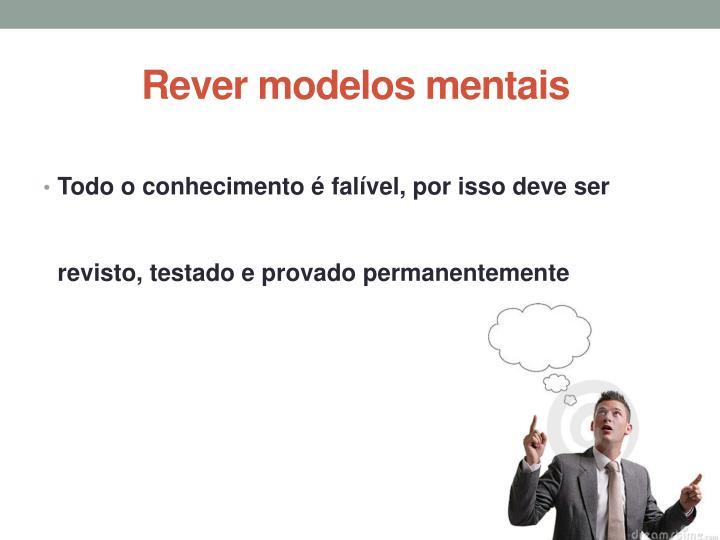Rever modelos mentais