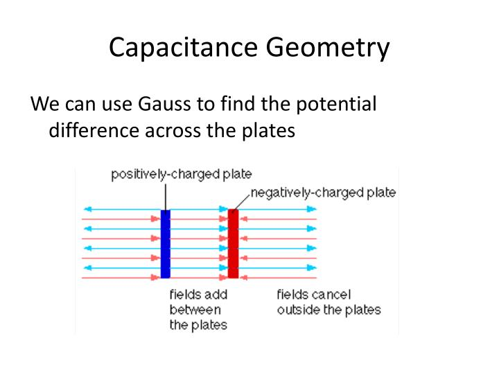 Capacitance Geometry