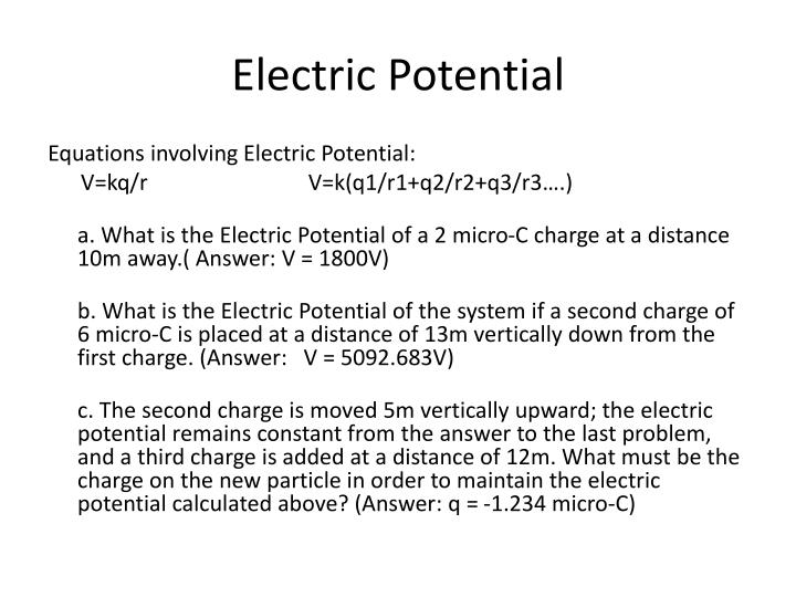 Electric potential1