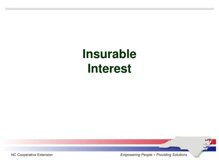Insurable