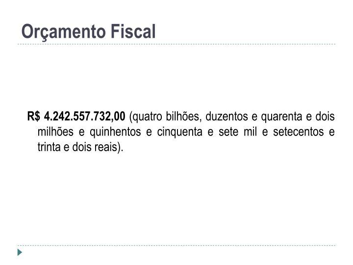 Orçamento Fiscal