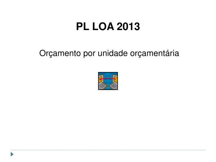 PL LOA 2013