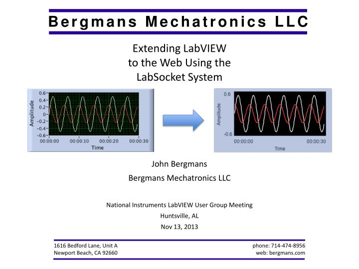Extending LabVIEW