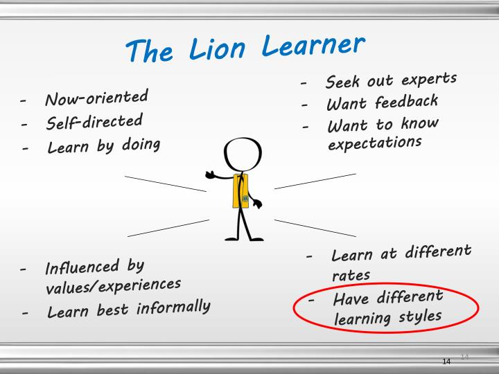 The Lion Learner