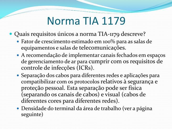 Norma TIA 1179