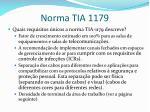 norma tia 11791