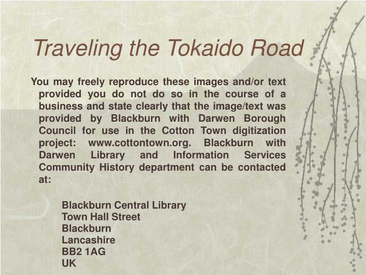 Traveling the Tokaido Road