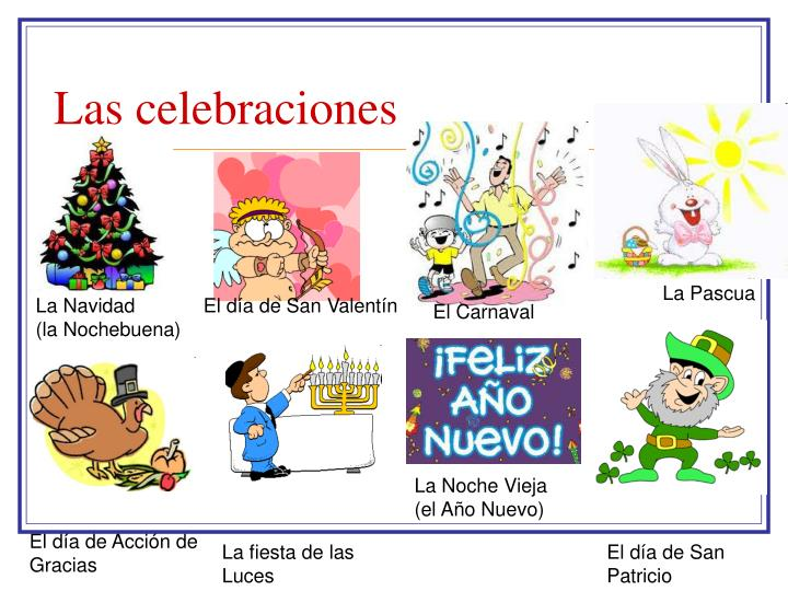 Las celebraciones