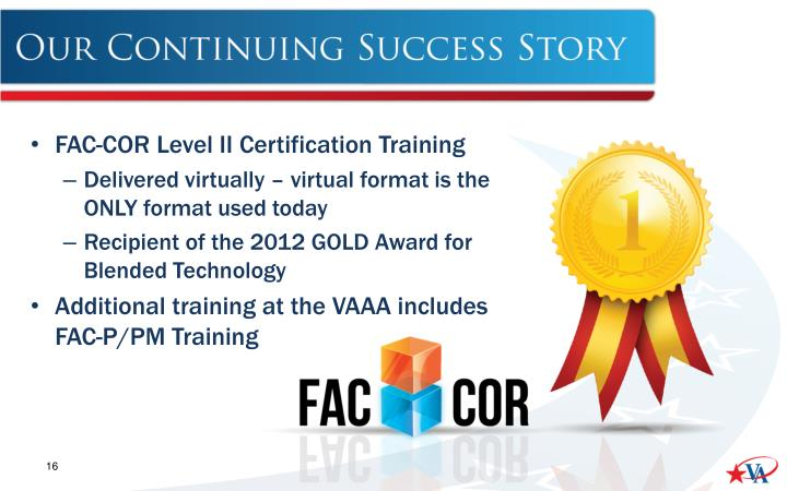 FAC-COR Level II Certification Training