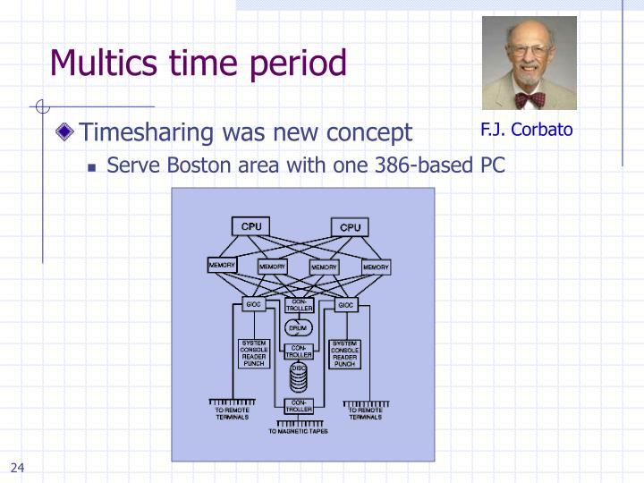 Multics time period