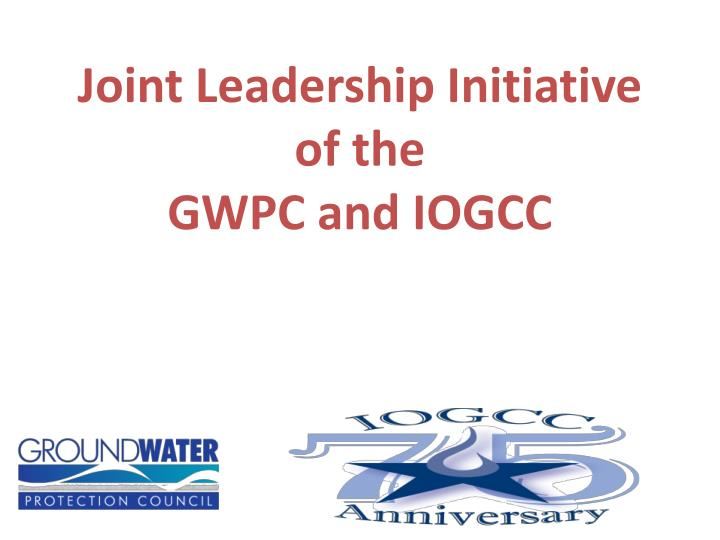 Joint Leadership Initiative of the