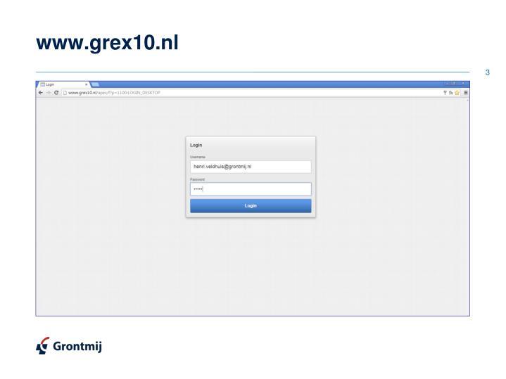 www.grex10.nl