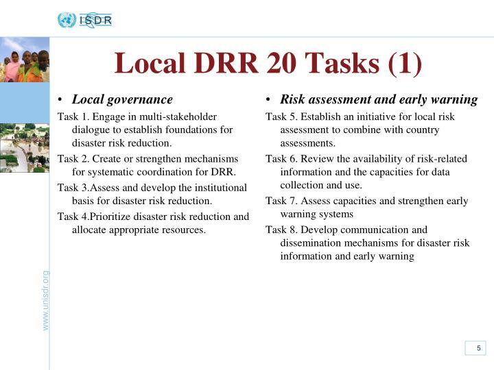Local DRR 20 Tasks (1)