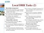 local drr tasks 2