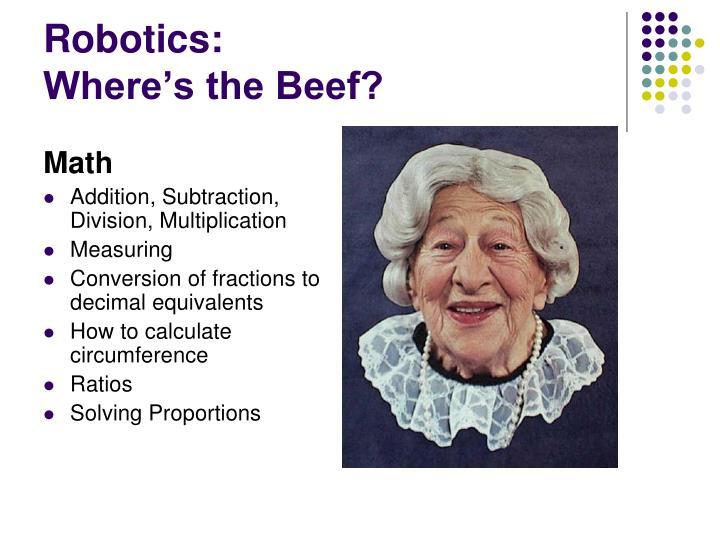 Robotics: