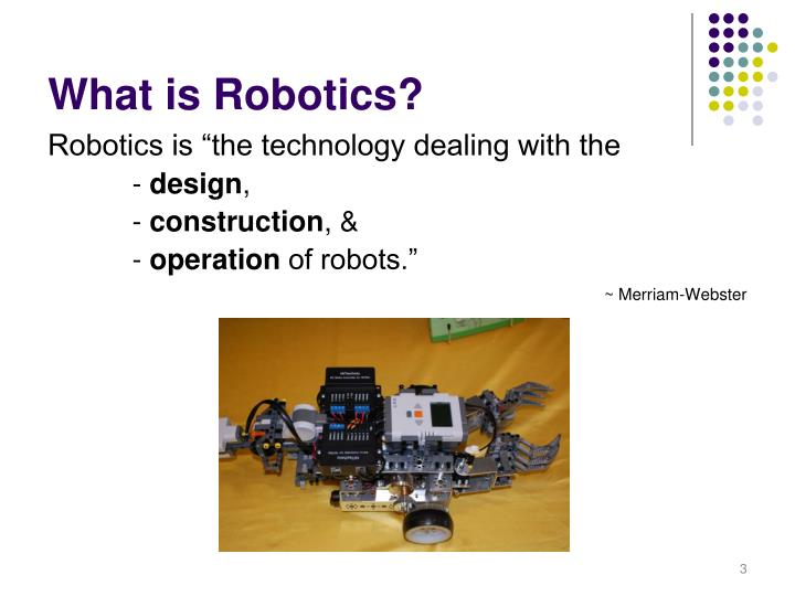 What is robotics