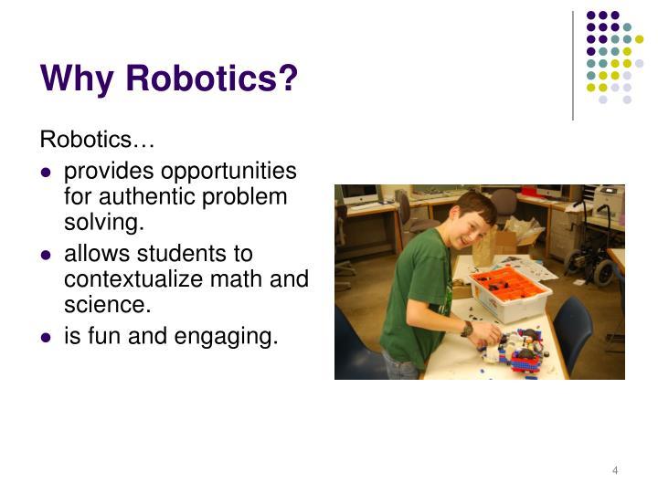 Robotics…
