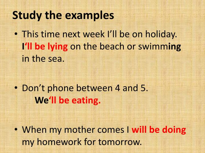 Study the