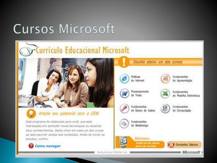 Cursos Microsoft