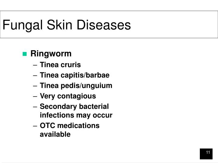 Fungal Skin Diseases