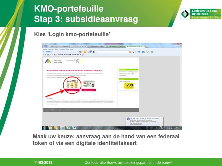 Kmo portefeuille stap 3 subsidieaanvraag1