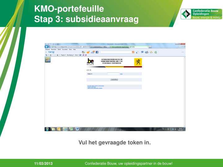 KMO-portefeuille