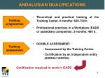 andalusian qualifications3