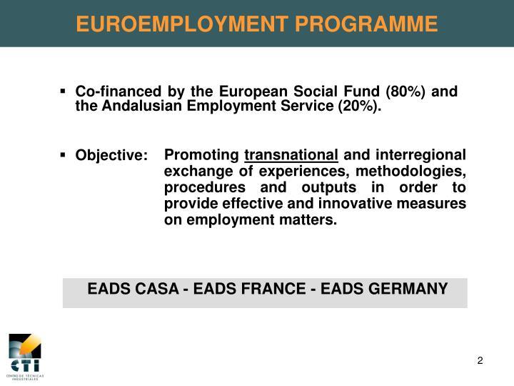 EUROEMPLOYMENT PROGRAMME