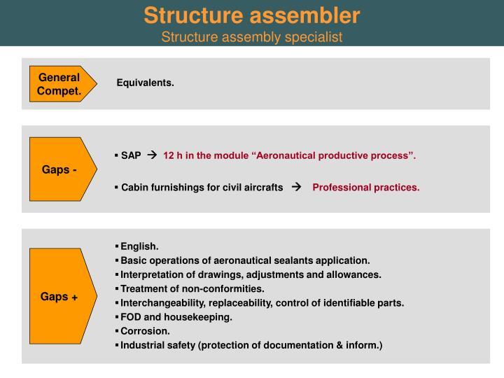 Structure assembler