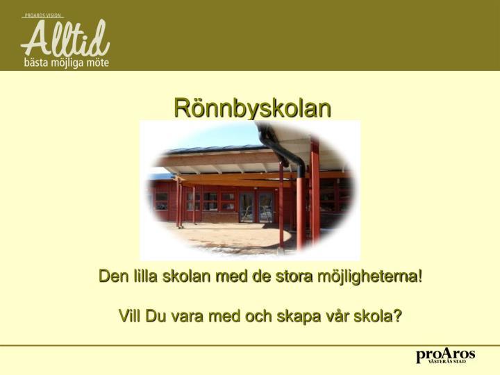 Rönnbyskolan