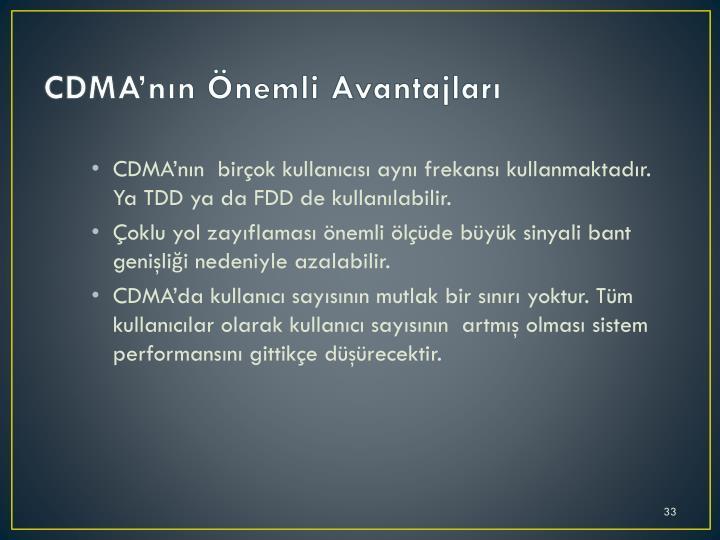 CDMA'nın