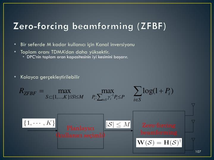 Zero-forcing