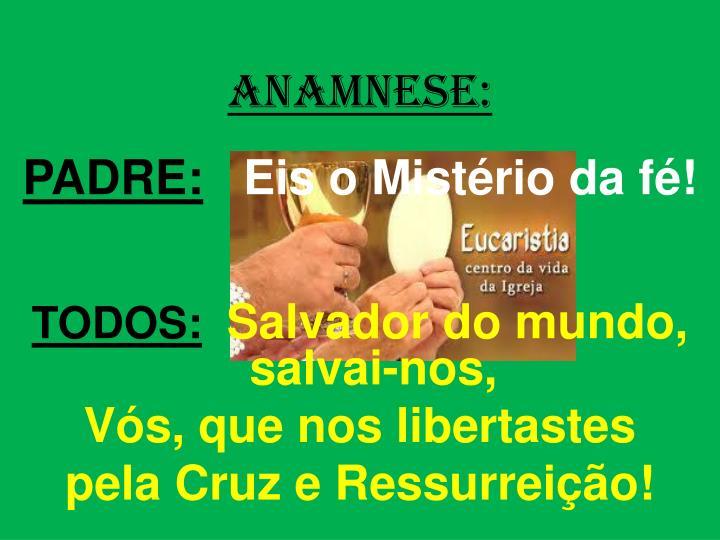 ANAMNESE: