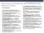 questionario per la valutazione delle condizioni lavorative pappone garofalo1