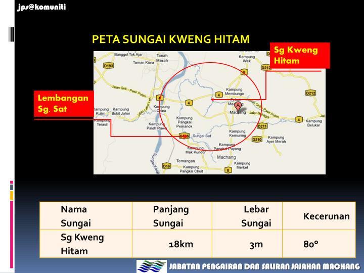 PETA SUNGAI KWENG HITAM