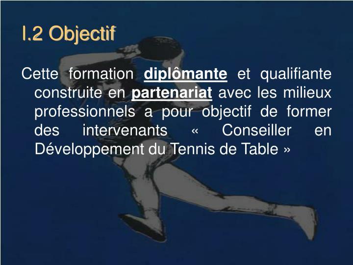 I.2 Objectif