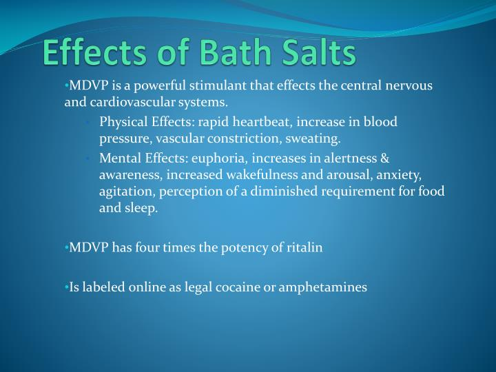 Effects of Bath Salts