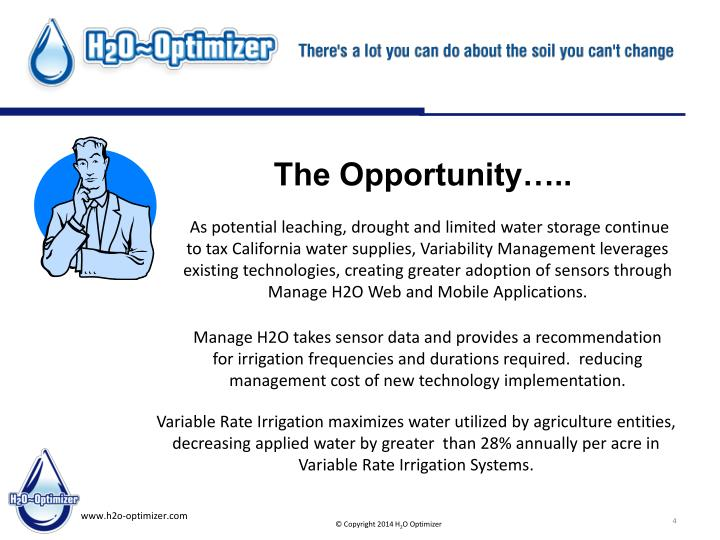 As potential leaching, drought and limited water storage continue to tax California water supplies, Variability Management leverages