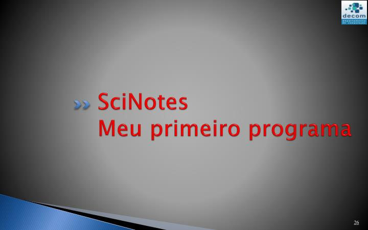 SciNotes