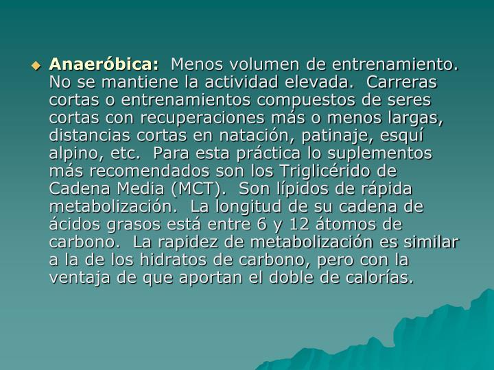 Anaeróbica: