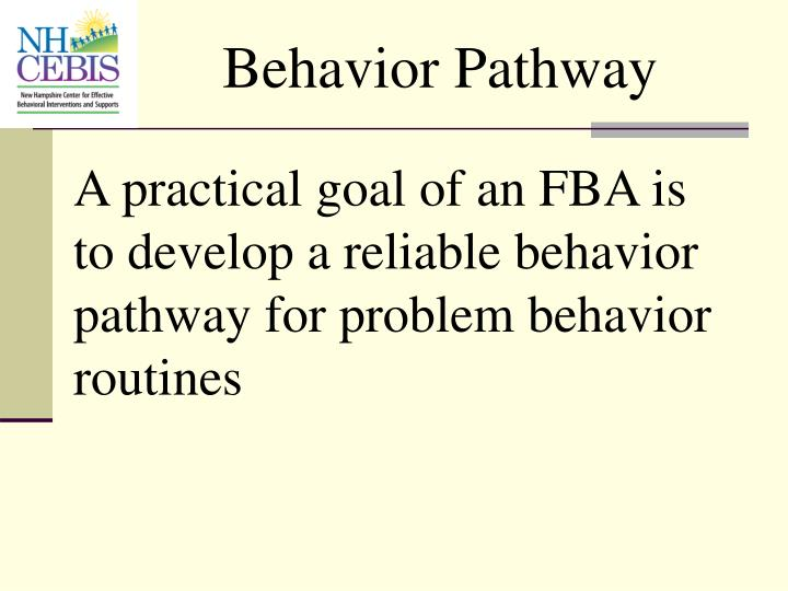 Behavior Pathway