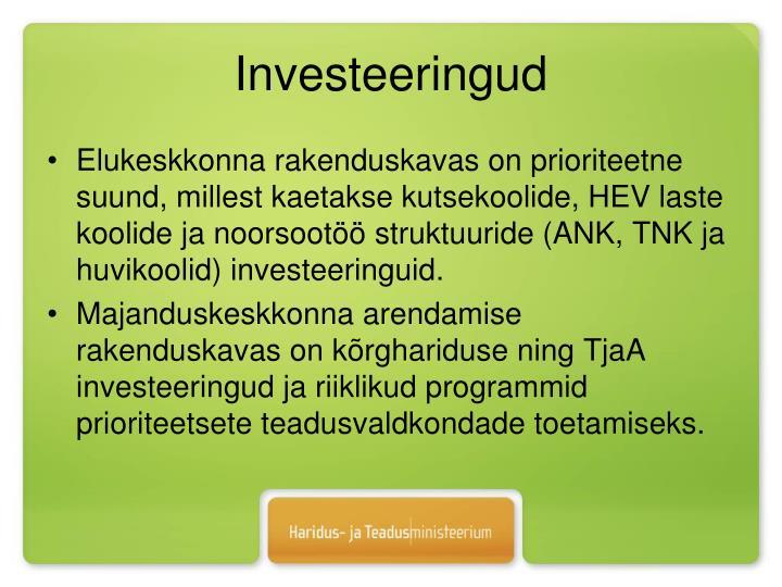 Investeeringud