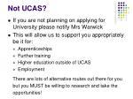 not ucas