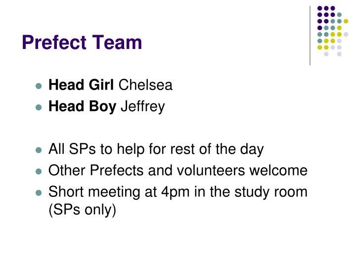 Prefect Team
