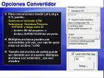 opciones convertidor1