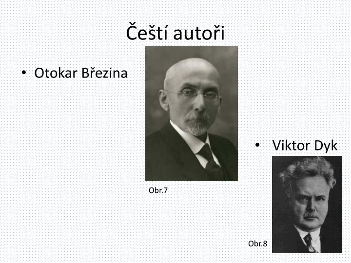 Čeští autoři