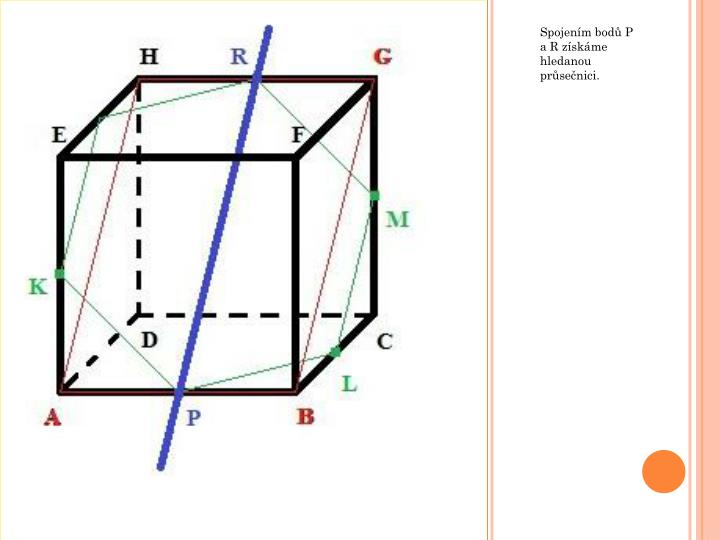 Spojením bodů P