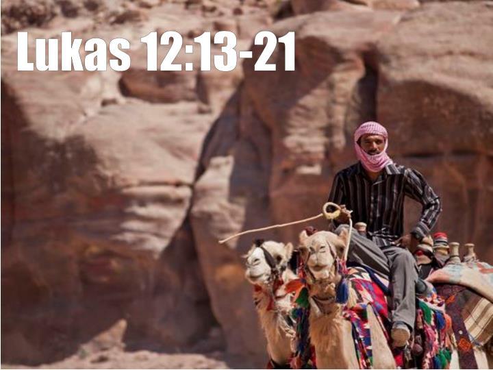 Lukas 12:13-21